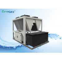 Quality High EER R407C Air Screw Industrial Water Chiller For Grinder Industry for sale