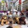 Buy cheap Hansel walking robot ride animal rides mall motorized plush riding animals from wholesalers