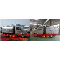 Chengli factory direct sale best price 4 wheels gasoline mini chang'an road sweeper truck 1.5cbm, street sweeper for sale