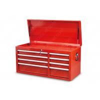 Quality Mechanics Metal SPCC Drawer Tool Chest , Gas Struts Lid Drawer Top Tool Chest for sale