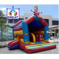Buy cheap 2016 hot sell inflatable bounce house with 24months warranty GT-BC-1840 from wholesalers