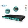 1U 2U 3U 4U fiber optic management Cassette MPO MTP Patch Panel Fiber Optic High Density Rack Mount for sale