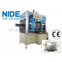 Quality Long Stack Length Pump Stator Coil Forming Machine Horizontal Type for sale