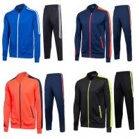 Quality Autumn And Winter Running Tracksuit For Men Sports Stand Neck Lightweight for sale