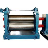 Buy 1250mm Accessory Equipment Galvanized Color Steel Sheet Flower Dots Embossing Machine at wholesale prices