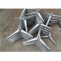 China Green Sand Casting Cast Iron Components Shot Blasting Surface For Chairs / Desks on sale