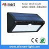 Buy cheap 38LED 550 Lumens 7W Motion Sensor Solar Wall Light PIR Sensor Light Triangle from wholesalers