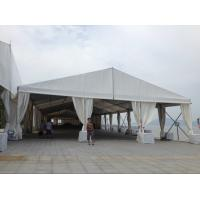 China Custom Clear Tent For Wedding Fireproof , Luxury Party Tent With Double PVC Rooftop for sale