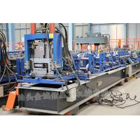 3 Roller Fast Speed CZ Exchange Purlin Roll Forming Machine With Punching for sale