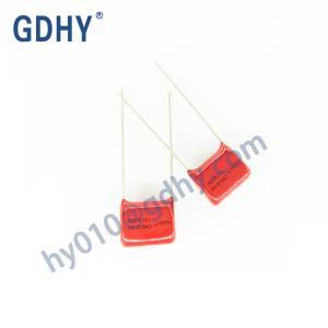 Quality 0.001UF 0.68UF CBB28 Polypropylene Film Capacitor 630V 5% Pitch 10 for sale
