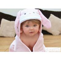 China 75*75cm Lightweight Baby Hooded Towels For Bath / Beach / Pool on sale
