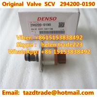 Quality DENSO Original Suction Control Valve / Valve ASSY 294200-0190 for sale