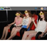 Quality 5D Cinema System  Internal of Mobile Car With Wheel , Moved to the  crowded places for sale