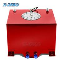 Buy cheap Red 5 Gallon Aluminum Fuel Cell Tank Polished Surface With Street Race Drift from wholesalers