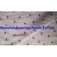 Buy 220T 140GSM Nylon Stretch Poplin Fabric With Print + W/R Outdoor Beachwear at wholesale prices