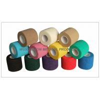 Buy Cohesive Bandage, High tensile Colored Elastic Non - Woven Hand Tearable at wholesale prices