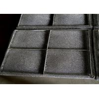 Quality Knitted SS Wire Mesh Mist Eliminator High Misting Efficiency And Embedded Type for sale