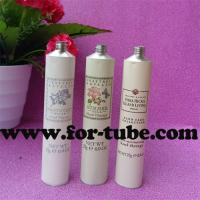 Quality Collapsible Aluminum Cosmetic Tube for Hand Cream for sale