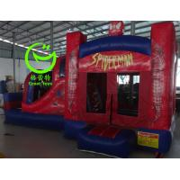 Quality 2016 hot sell Spiderman inflatable bounce house with 24months warranty from GREAT TOYS for sale