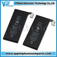 Buy cheap New and Original 3.7V Li - ion Black OEM Spare Batteries For iPhone 5 from wholesalers