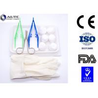 Quality PVC Disposable Dental Examination Kit Operative Single Use Green White Yellow for sale