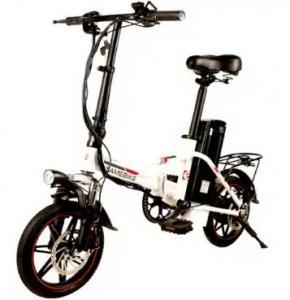 Quality WWW.YOLCART.COM Samebike 20LVXD30 Smart Folding Moped Electric Bike E-bike - WHITE EU PLUG for sale