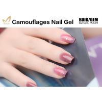 Quality Private Label Camouflage Nail Gel Salon / Professional Builder Gel Chemical Free for sale