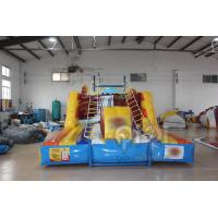 Quality Inflatable Rope Ladder Climbing Challenge for sale