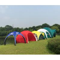 Attractive Inflatable Advertising Tent Easy Assemble Fire Retardant Light Weight for sale