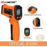 China IR Laser Infrared Thermometer Temperature Gun China Manufacturer Industrial Infrared Thermometers for sale