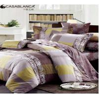 Quality Reactive Printed Floral Bedding Sets Exquisite With Stitching Workmanship for sale