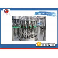 Quality Carbonated Soft Drink Glass Bottle Filling Machine Production Line 10000bph Capacity for sale