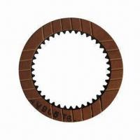 China Automatic Transmission Friction Plate, Made of Paper Base, Measures 153 x 22mm on sale