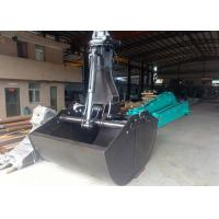 Quality Kobelco SK380 Excavator Grab Attachment 3.0 Cum Bucket Capacity Worm Rotating for sale