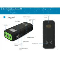 multi function auto jump starter power bank with wireless charge