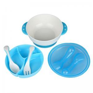 Quality Custom Pattern Printing Tableware Dinner Sets , Plastic Crockery Set For Kids for sale