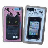 Quality Silicone Mobile Phone Cases/TPU Mobile Phone Cases for iPhone 4S, OEM and ODM Ordered are welcomed for sale