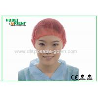 Buy cheap PP Nonwoven Colorful Disposable Scrub Caps / Mens Surgical Caps from wholesalers