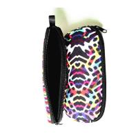 Quality Portable Travel Zipper Soft Neoprene Sunglasses bag.SBR Material. Size is 19cm*8.7cm. for sale