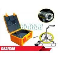 Quality CCTV Pipe Inspection Equipment Drain Surveys Pipe Inspection Camera with 7 inch Monitor and Keyboard for sale