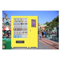 China Park Auto Snacks Drinks Vending Machines , Beer Vending Machine In Public on sale
