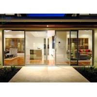 Buy cheap Functional System Aluminium Alloy Sliding Glass Door with  Undisturbed Views from wholesalers