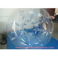 Quality Clear 1.5m TPU Inflatable Bubble Ball For Young , Outdoor Games Inflatable Bumper Bubble Ball for sale