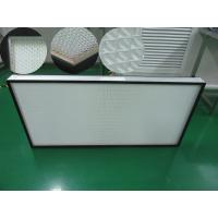 China H14 Mini Pleat HEPA Filter for laminar flow cabinet, laboratory, clean rooms on sale