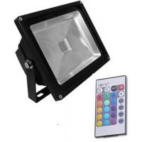 Quality high lumens AC100-240v ip65 outdoor 50w led rgb flood light rgb led floodlight with remote for sale