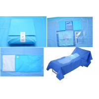 Quality Hospital Use Medical EO Sterile Fenestrated Drape Pack , Hip U Drape for sale