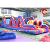 Quality Giant Interactive Military Boot Inflatable Obstacle Course Rental Adults for sale