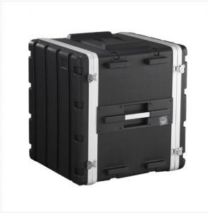 Quality Standard Portable Rackmount Case Black 12u Rack Case 480 X 430 X 530mm For Amplifier for sale