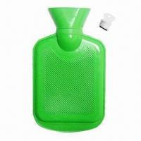 Quality 500cc Rubber Hot Water Bottle Bags for sale