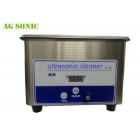 Quality 0.8L Ultrasonic Cleaner Dental Equipment Power Adjustable With Digital Timer for sale